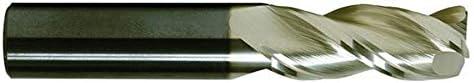 REX3050 .5000 Round Shank Type Single End Corner Radius Carbide End Mill 3.0000 OAL 1//2 ZrN Coated 3 Flute 1.2500 LOC .0300 Radius RedLine Tools
