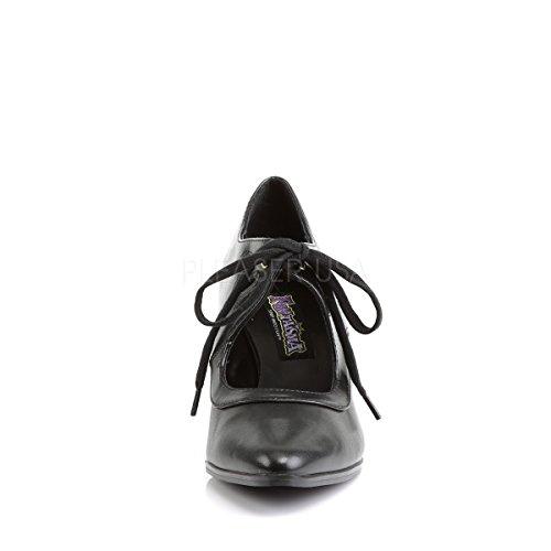 heels Chaussures De Ville Higher Mattschwarz Lacets Femme Noir Pour À qx1Rd