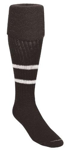 Kwik Goal Soccer Referee Socks, Size 7-10, Black