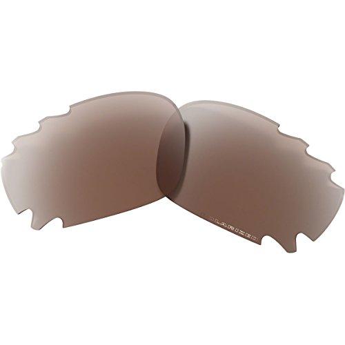 Vr28 Black Iridium Lens (Oakley Racing Jacket Replacement Lens Sunglass Accessories - VR28 Black Iridium Vented / OS)