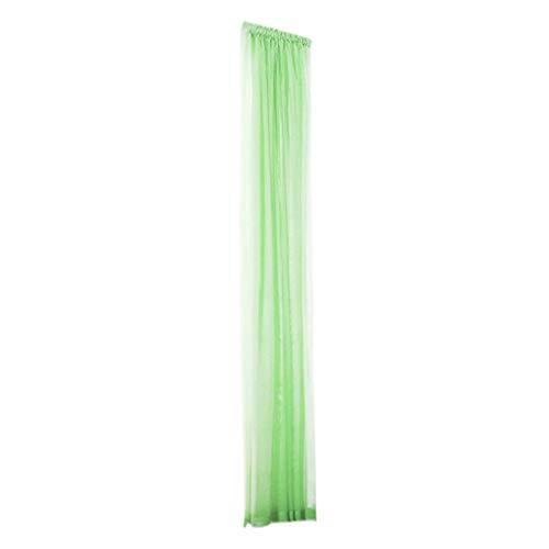 Awesomecar 1 PCS Pure Color Tulle Door Window Curtain Drape Panel Sheer Scarf Valances