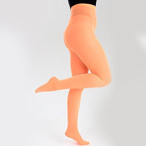 ballet una flo colores naranja 16 Sport de Medias talla chica de 0wAqBtp