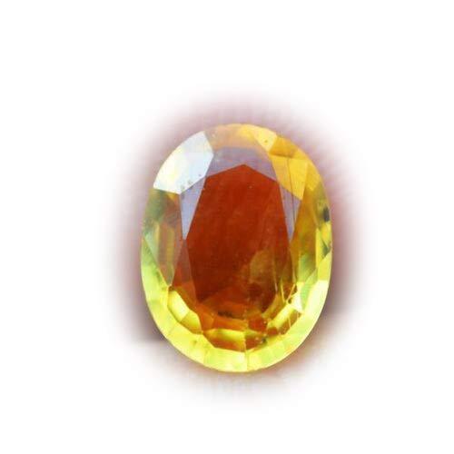 Lovemom 1.24ct Natural Oval Yellow Sapphire Sri-Lanka #W