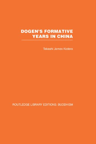 Dogen's Formative Years: An Historical and Annotated Translation of the Hokyo-ki (Routledge Library Editions: Buddhism) Pdf