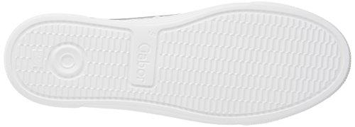 Gris Shoes Cordones Zapatos Mujer Gabor Argento Basic para de Comfort Derby fqwz74ax