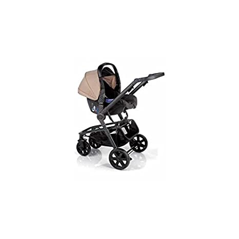 Nurse Town 3 Pro - Sistema modular de silla de paseo y capazo, color beige/negro: Amazon.es: Bebé