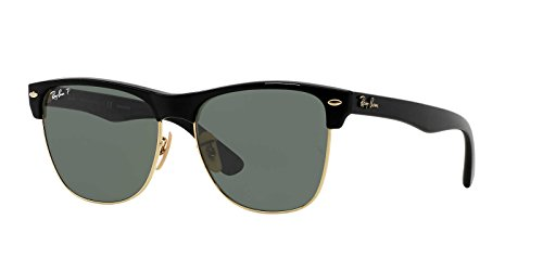 Ray-Ban Mens Sunglasses Black/Green Plastic,Nylon - Polarized - - Rayban Shades