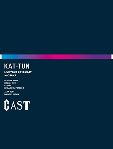 KAT-TUN / KAT-TUN LIVE TOUR 2018 CAST [完全生産限定版]