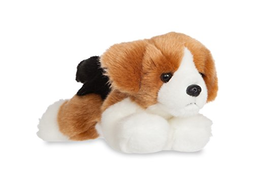 Aurora Beagle de peluche, colección Luv to Cuddle, 20 cm, color blanco y marrón (0060060703): Amazon.es: Juguetes y juegos