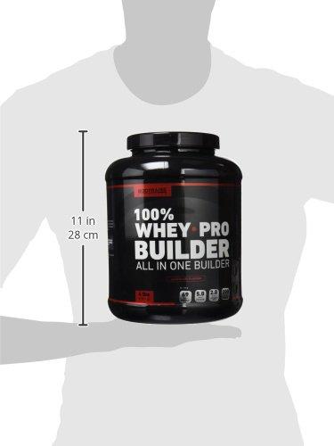 100% Whey Pro Builder 4lbs (1814 g) Chocolate: Amazon.es: Salud y cuidado personal