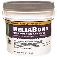 (Reliabond Tile Adhesive, 3.5 Gal)
