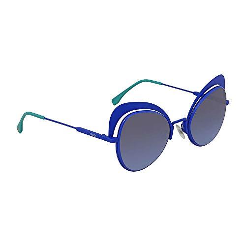 Fendi Eyeshine Blue Gradient Cat Eye Ladies Sunglasses FF 0247/S PJP/GB ()