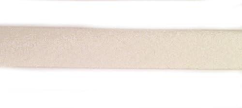 Schr/ägband Baumwolle Breite 20 mm gefalzt Jasmin Gr/ün