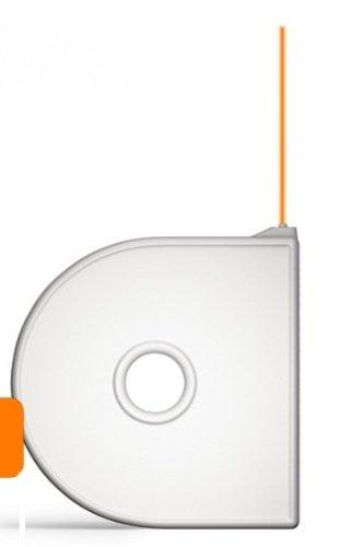 3D Systems Cube Compostable Pla Plastic Cartridge  Neon Orange 380150