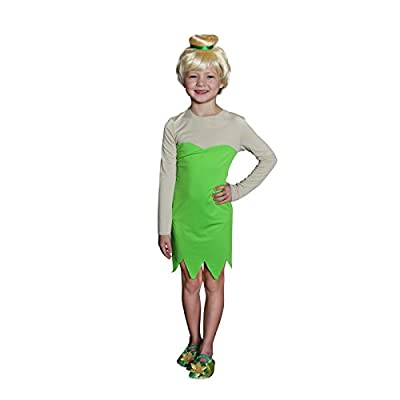 Largemouth Girls Tinkerbell Costume, Green: Clothing