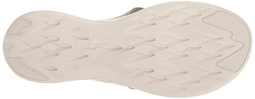 Go The 600 Flop Taupe Women's Skechers 15300 On Flip EwUB5B