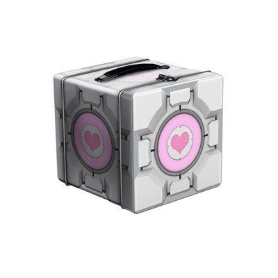 Portal 2 Companion Cube Tin Lunch Box