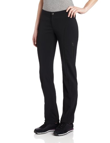 Columbia Women's Just RightStraight Leg Pant, Black, 4R