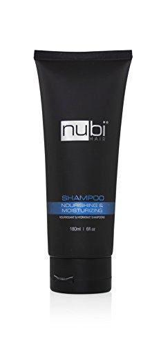 Nubi Hair Moisturizing Shampoo with Olive Oil, 6 Fl. Oz / 180 Ml. (1 Pack)