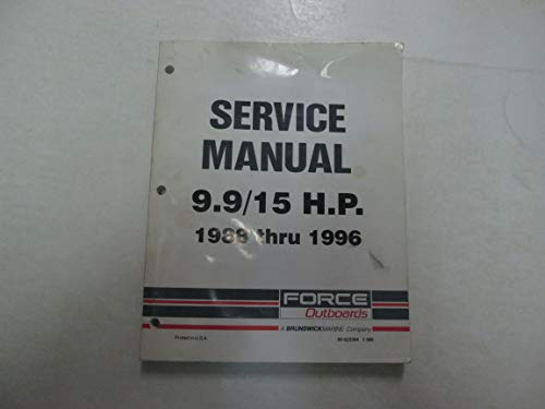 1988 1996 Force Outboards 9.9 15 H.P. Service Repair Manual +90-823264 *** ()