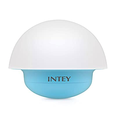 INTEY Night Lights Touch Sensor Color Changing Dimmable, Mushroom Design