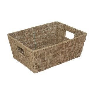Large Tapered Seagrass Basket by Red Hamper