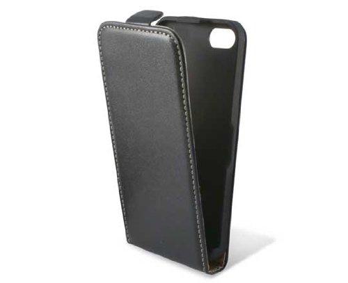 KSIX Étui à rabat pour iPhone 5C Noir