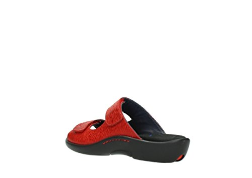 Wolky Comfort Nepeta 70500 rot Nubukleder