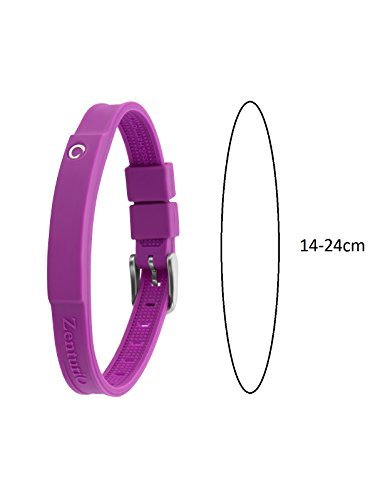 Zenturio Limited Colur Up Lavender Edition exclusive magnet/ion / health bracelet – TÜV Rheinland Germany certified – For your health and wellbeing - Without Etui by Zenturio (Image #3)