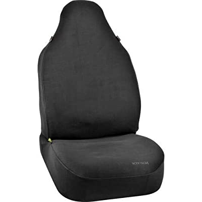 Body Glove 22-1-70331-9 Bucket Seat Cover (Universal Black Neoprene Snug Fit), 1 Pack: Automotive