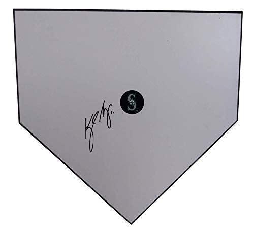 Kyle Seager Autographed Hand Signed Seattle Mariners Baseball Home Plate Base with Proof Photo of Signing and - Signed Hand Seattle Mariners