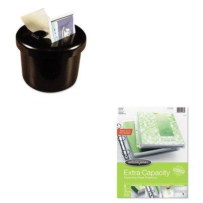 KITLEE40100WLJ21438 - Value Kit - Wilson Jones Extra Capacity Sheet Protector (WLJ21438) and Lee Ultimate Stamp Dispenser (LEE40100) ()
