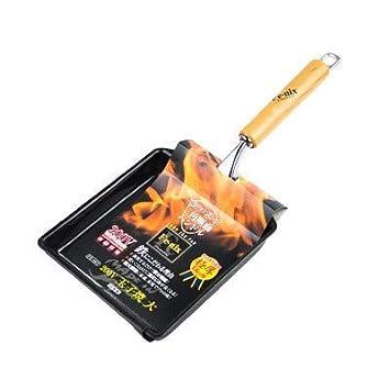 MONFS Home Sartenes Sartenes Woks & Stir-Fry Cacerola Antiadherente Jade Sartén Antiadherente Tortilla Japonesa