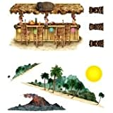Novelties Direct Tiki Bar And Island Props (8 In A Pack)