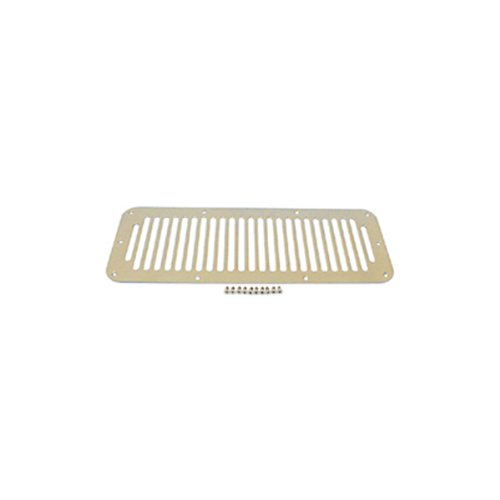 Rugged Ridge 11117.02 Stainless Hood Vent Cover