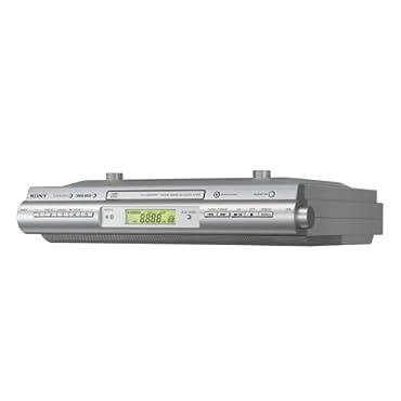 Sony ICF-CDK50 Under Cabinet Kitchen CD Clock Radio