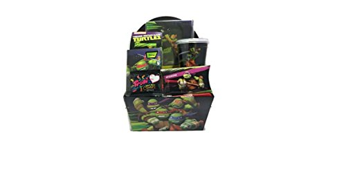 Nickelodeon Teenage Mutant Ninja Turtles Deluxe Trolli Sour Brite Mini Crawlers Candy Gift Set, 7 pieces