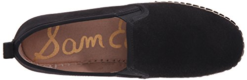 Sam Edelman Carrin, Espadrillas Donna Nero (Black Suede)