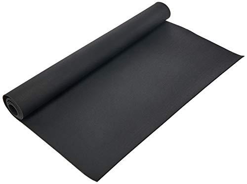 Rubber-Cal Elephant Bark Flooring and Rolling Mat, Black, 1/4-Inch x 4 x 10-Feet