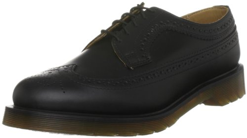 Dr. Martens Women's 3989 Smooth Fashion Oxfords, Black, Leather, 5 M UK, 7 M - Shoe 3989 Martens Brogue