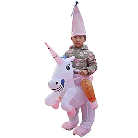 thematys Traje Inflable Unicornio - Divertido Disfraz de Aire con ...