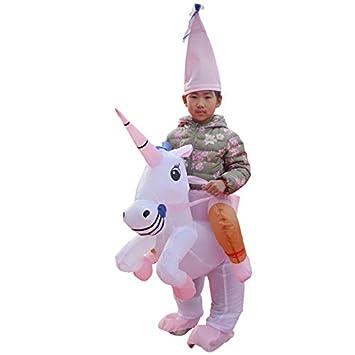 thematys Traje Inflable Unicornio - Divertido Disfraz de ...