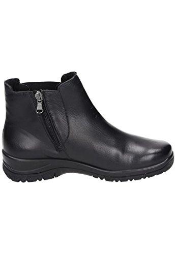 Comfortabele Dameslaarzen - G Wit Zwart 990967-1 Zwart