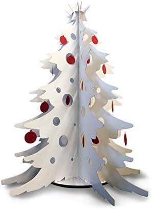 Albero Natale Immagini.Scatolificio Crippa Albero Di Natale In Cartone Con Decorazioni Alt 150 Cm Amazon It Casa E Cucina