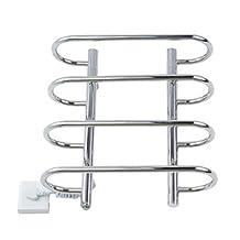LI 40W Stainless Steel Wall Mount Circular Tube Towel Drying Rack , 110-120V
