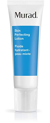 Murad Acne Control Skin Perfecting Lotion - Step 3 (1.7 fl oz), Oil-Free Daily Hydrating Face Moisturizer for Acne Prone Skin with Retinol and Allantonin to Reduce Oil, Tighten Pores, and Calm Skin (Best Oil For Acne Prone Skin)