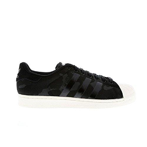 Scarpe Da Ginnastica Adidas Originali Superstar Weave Mens Sneakers (us 8.5, Cblack / Cblack / Owhite Aq6745)