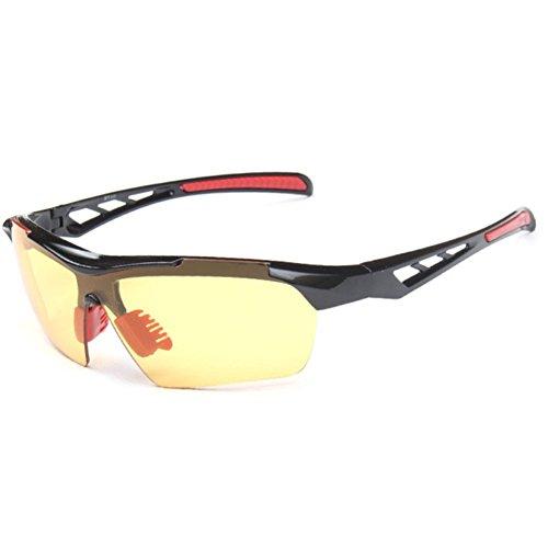Sinkfish SG80023 Cycling Sunglasses for Women,Anti-UV & Fashion Reflector - UV400/Black - Simply Vera Wang Vera Sunglasses