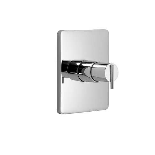 Jado Pressure Balance Valve (Jado 831536.100 Glance Pressure Balance Shower Trim, Polished Chrome)