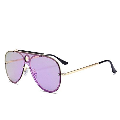 Gafas de gafas de 140 sol las 52m de m unisex reflexivas la NIFG manera de E siameses sol 138 dZvwA0dPfq